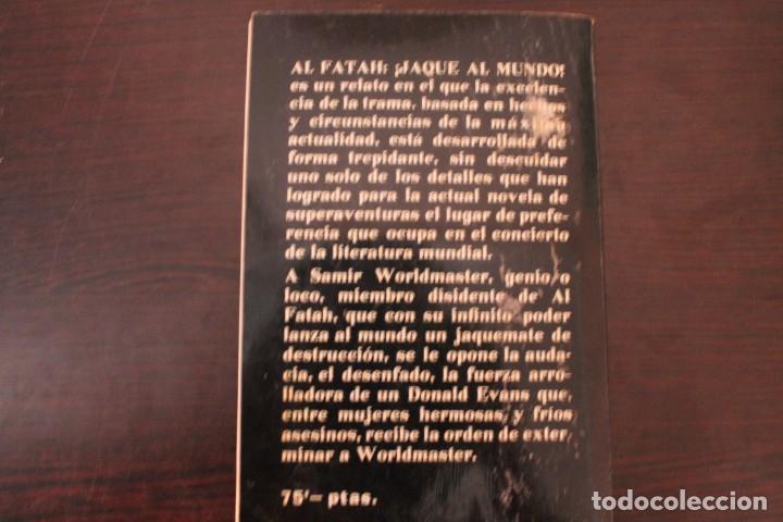 Libros de segunda mano: al fatah jaque al mundo por frank caudett - Foto 3 - 191698221