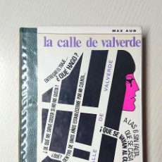 Libros de segunda mano: LA CALLE DE VALVERDE · MAX AUB · AYMÀ, 1968 · RICARD GIRALT MIRACLE (ILUSTRACIÓ). Lote 191793121