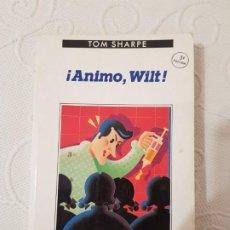 Libros de segunda mano: ¡ÁNIMO, WILT! TOM SHARPE, SERIE CONTRASEÑAS, NÚMERO 128, EDITORIAL ANAGRAMA, 1991. Lote 191937148