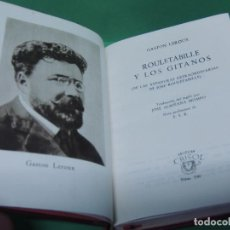 Libros de segunda mano: ROULETABILLE Y LOS GITANOS.- GASTON LEROUX 1950 (AGUILAR). Lote 192120137