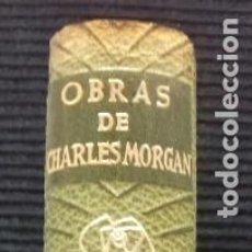 Libros de segunda mano: OBRAS DE CHARLES MORGAN. VOL. II. JANES EDITOR 1958.. Lote 192216216