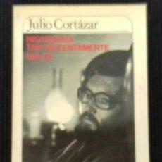 Libros de segunda mano: NICARAGUA TAN VIOLENTAMENTE DULCE. JULIO CORTAZAR.MUCHNIK EDITORES 1984.. Lote 192325036