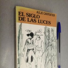 Libros de segunda mano: EL SIGLO DE LAS LUCES / ALEJO CARPENTIER / BIBLIOTECA UNIVERSAL FORMENTOR - SEIX BARRAL 1980. Lote 192338555