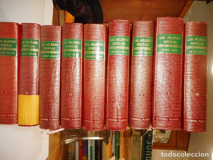 VV.AA LAS MEJORES NOVELAS CONTEMPORÁNEAS (10 TOMOS) Y98378T (Libros de Segunda Mano (posteriores a 1936) - Literatura - Narrativa - Otros)