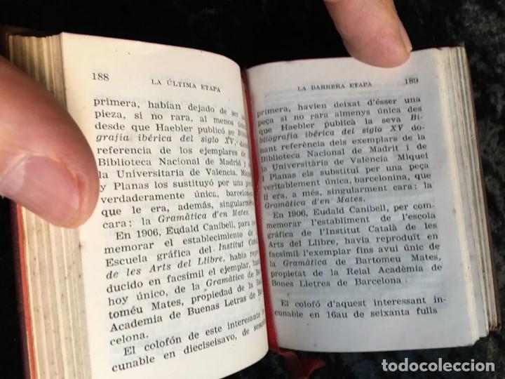 Libros de segunda mano: LA LEYENDA DEL LIBRERO ASESINO DE BARCELONA - CRISOLIN 5 - BILINGÜE - VERRIE - ILUSTRADO - Foto 5 - 192841892
