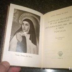 Libros de segunda mano: 75-LAS MORADAS, SANTA TERESA DE JESUS, CRISOL 75. Lote 193443341