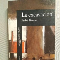 Libros de segunda mano: ANDREI PLATONOV LA EXCAVACIÓN. Lote 193641386