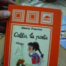 Livres d'occasion: COLETA, LA POETA, GLORIA FUERTES. L.8136-449. Lote 193678280