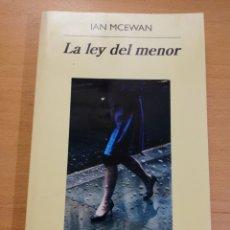 Libros de segunda mano: LA LEY DEL MENOR (IAN MCEWAN). Lote 229266670