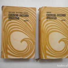 Libros de segunda mano: VV.AA CIENCIA-FICCIÓN INGLESA (2 TOMOS) Y98711T. Lote 193909697