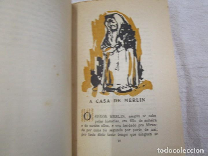 Libros de segunda mano: GALICIA - MERLIN E FAMILIA - ALVARO CUNQUEIRO - EDI GALAXIA 1955 PRIMERA EDICION - PREGO + INFO - Foto 5 - 193957902