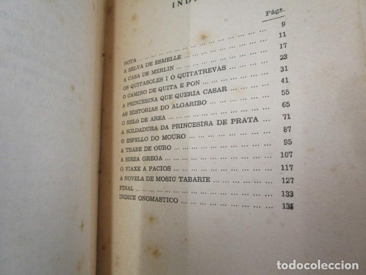 Libros de segunda mano: GALICIA - MERLIN E FAMILIA - ALVARO CUNQUEIRO - EDI GALAXIA 1955 PRIMERA EDICION - PREGO + INFO - Foto 6 - 193957902