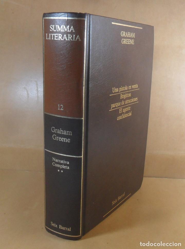 GRAHAM GREEN - NARRATIVA COMPLETA II (TOMO 12) - SEIX BARRAL - 1985 (Libros de Segunda Mano (posteriores a 1936) - Literatura - Narrativa - Otros)