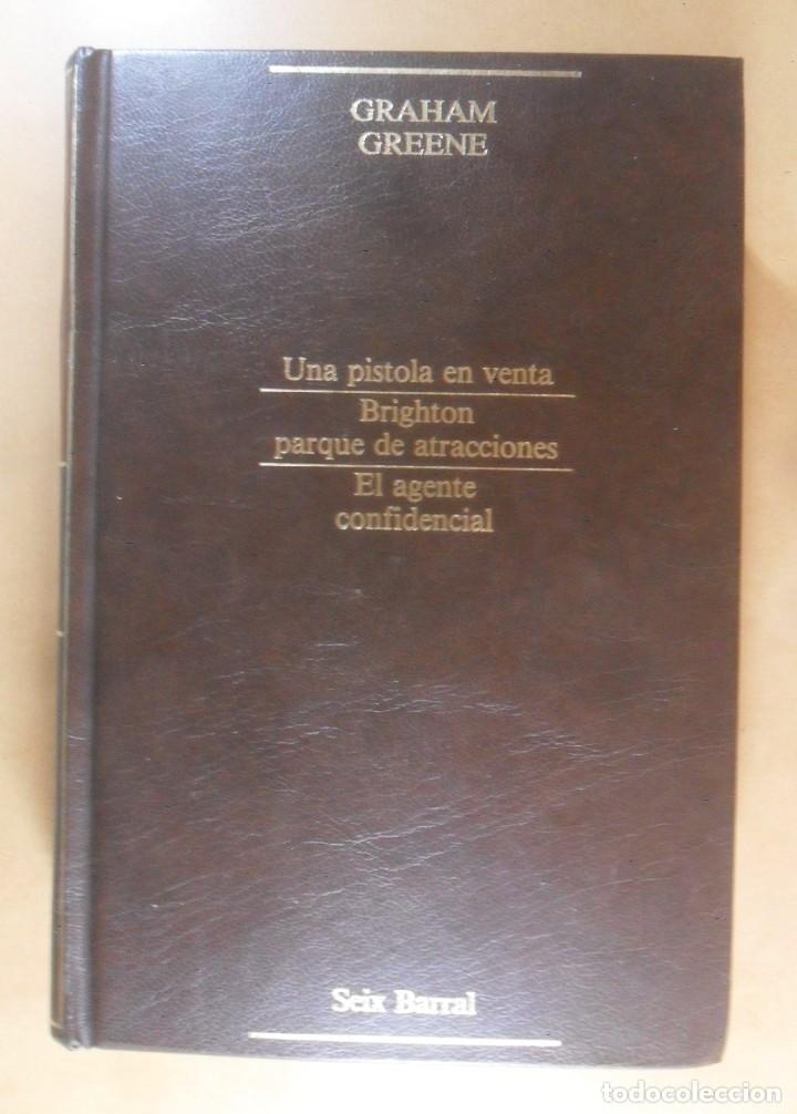 Libros de segunda mano: GRAHAM GREEN - NARRATIVA COMPLETA II (TOMO 12) - SEIX BARRAL - 1985 - Foto 2 - 194012573