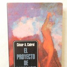 Libros de segunda mano: EL PROYECTO DE PANCRACIO CÉSAR A. CABRAL NUEVOHACER GRUPO EDITOR LATINOAMERICANO DEDICADO POR AUTOR. Lote 194222296