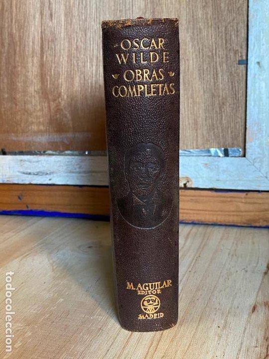 Libros de segunda mano: Oscar Wilde obras completas 1949 - Aguilar - Foto 2 - 194243210