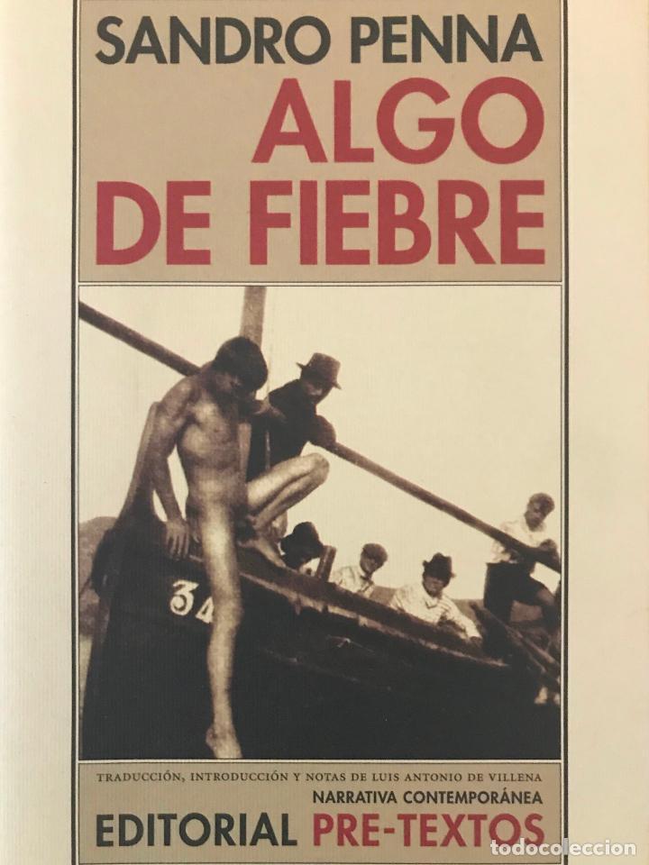 ALGO DE FIEBRE.SANDRO PENNA .-NUEVO (Libros de Segunda Mano (posteriores a 1936) - Literatura - Narrativa - Otros)