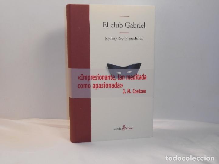 Libros de segunda mano: JOYDEEP ROY-BHATTACHARYA, EL CLUB GABRIEL - EDHASA, 2003 - MUY BUEN ESTADO - Foto 4 - 194253507