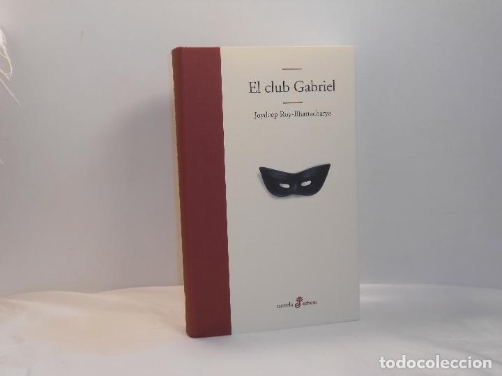 JOYDEEP ROY-BHATTACHARYA, EL CLUB GABRIEL - EDHASA, 2003 - MUY BUEN ESTADO (Libros de Segunda Mano (posteriores a 1936) - Literatura - Narrativa - Otros)