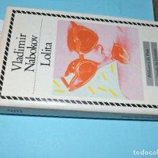 Libros de segunda mano: LOLITA. NABOKOV, VLADIMIR. COL. BIBLIOTECA DE PLATA. ED. CÍRCULO DE LECTORES. BARCELONA 1987. Lote 194259348