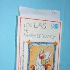 Libros de segunda mano: LOS LAIS DE MARÍA DE FRANCIA. COL. SELECCIONES AUSTRAL. ED. ESPASA-CALPE. MADRID 1978. Lote 194271183