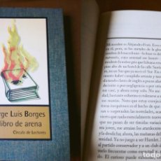 Libros de segunda mano: EL LIBRO DE ARENA. BORGES JORGE LUIS. 1999. Lote 194295656