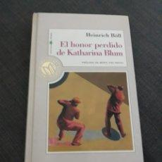 Libros de segunda mano: EL HONOR PERDIDO DE KATHARINA BLUM.HEINRICH BOLL . MILLENIUM N°46. Lote 194297982