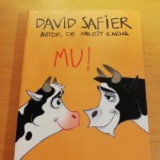 Libros de segunda mano: MU! (DAVID SAFIER). Lote 194329793
