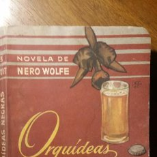 Libros de segunda mano: BIBLIOTECA ORO DE BOLSILLO , Nº 13 ORQUÍDEAS NEGRAS , NOVELA DE NERO WOLFE , MAYO 1950. Lote 194339378