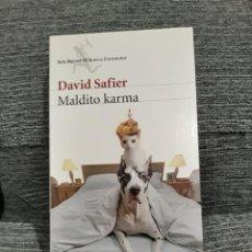 Libros de segunda mano: MALDITO KARMA - DAVID SAFIER. Lote 194341365