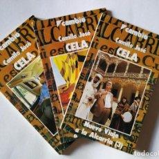Libros de segunda mano: NUEVO VIAJE A LA ALCARRIA (OBRA COMPLETA 3 TOMOS) | CELA, CAMILO JOSÉ| CAMBIO 16, 1986. Lote 194356451