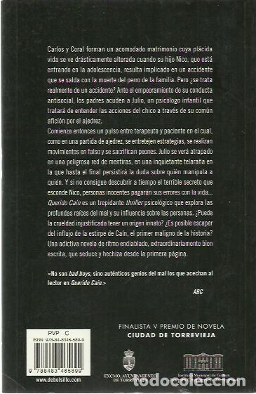 Libros de segunda mano: Ignacio García-Valiño-Querido Cain.Debolsillo.2008. - Foto 2 - 194357640
