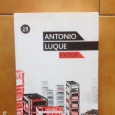 Libros de segunda mano: EXITUS - ANTONIO LUQUE ( SR CHINARRO ) - EL ALEPH. Lote 194518246