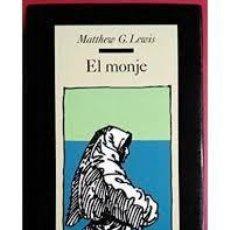 Libros de segunda mano: MATTHEW G LEWIS - EL MONJE. Lote 194519682