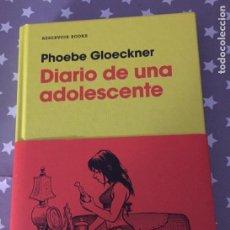 Libros de segunda mano: DIARIO DE UNA ADOLESCENTE PHOEBE GLOECKNER, LIBRO COMIC. Lote 194525953