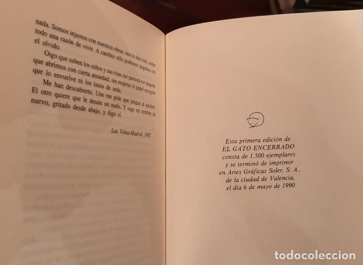 Libros de segunda mano: ANDRÉS TRAPIELLO - EL GATO ENCERRADO, 1ª EDICIÓN - Foto 3 - 194532610