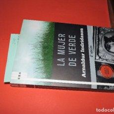 Libros de segunda mano: LA MUJER DE VERDE. INDRIDASON, ARNALDUR. COL. SERIE NEGRA. ED. RBA. BARCELONA 2009. 4ª EDICIÓN. Lote 194555846