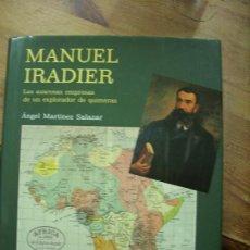 Libros de segunda mano: MANUEL IRADIER, ÁNGEL MARTÍNEZ SALAZAR. L.6922-614. Lote 194575318