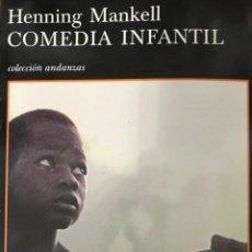 Libros de segunda mano: COMEDIA INFANTIL. HENNING MANKELL .- NUEVO. Lote 194640455