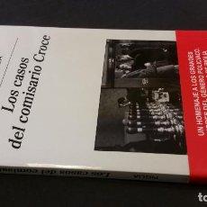 Libros de segunda mano: 2018 - RICARDO PIGLIA - LOS CASOS DEL COMISARIO CROCE. Lote 194692632