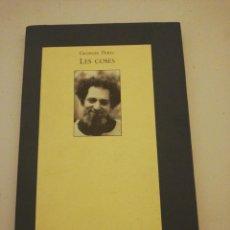 Libros de segunda mano: GEORGES PEREC , LES COSES . Lote 194744118
