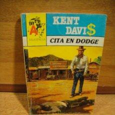 Libros de segunda mano: ASTRI DILIGENCIA Nº 272 - CITA EN DODGE - KENT DAVIS. Lote 194754983