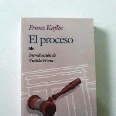 Libros de segunda mano: EL PROCESO - FRANZ KAFKA - EDAF. Lote 194777685