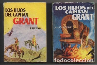 VERNE, JULIO. LOS HIJOS DEL CAPITAN GRANT. 2 TOMOS. COLECCIÓN PULGA Nº 67 Y 68 A-COPULGA-2577 (Libros de Segunda Mano (posteriores a 1936) - Literatura - Narrativa - Otros)