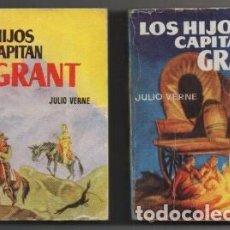 Libros de segunda mano: VERNE, JULIO. LOS HIJOS DEL CAPITAN GRANT. 2 TOMOS. COLECCIÓN PULGA Nº 67 Y 68 A-COPULGA-2577. Lote 194778035