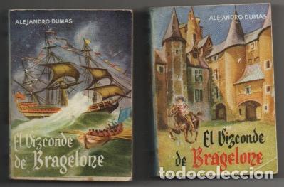 DUMAS, ALEJANDRO. EL VIZCONDE DE BRAGELONE. 2 TOMOS. COLECCIÓN PULGA Nº 35 Y 36 A-COPULGA-2578 (Libros de Segunda Mano (posteriores a 1936) - Literatura - Narrativa - Otros)