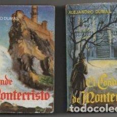 Libros de segunda mano: DUMAS, ALEJANDRO. LOS TRES MOSQUETEROS. 2 TOMOS. COLECCIÓN PULGA Nº 7 Y 8 A-COPULGA-2579. Lote 194778166