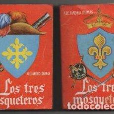 Libros de segunda mano: DUMAS, ALEJANDRO. EL CONDE DE MONTECRISTO. 2 TOMOS. COLECCIÓN PULGA Nº 25 Y 26 A-COPULGA-2580. Lote 194778243