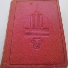 Libros de segunda mano: CRISOLIN Nº 08: AÑO 1954 - PAGINAS DE MI VIDA - SANTIAGO RAMÓN Y CAJAL. Lote 194779426