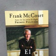 Libros de segunda mano: EL PROFESOR POR FRANK MCCOURT. Lote 194860182